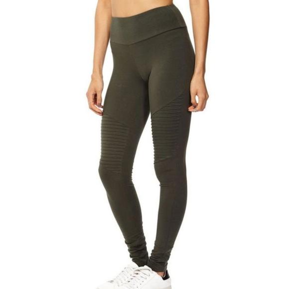 Cotton On Pants Jumpsuits Army Militarygreen Dakota Moto Leggings Poshmark